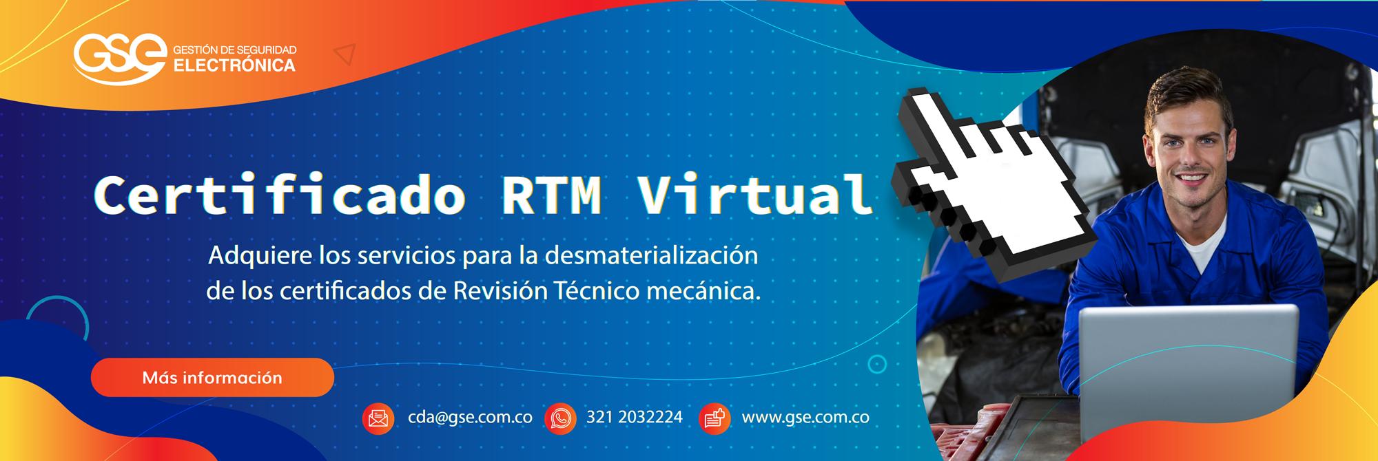 Banner Revisión Técnico Mecánica Virtual