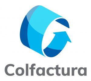 Logotipo Colfactura -vertical fondo blanco