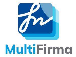 Logotipo Multifirma - vertical fondo blanco