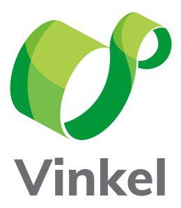 Logotipo Vinkel -vertical fondo blanco