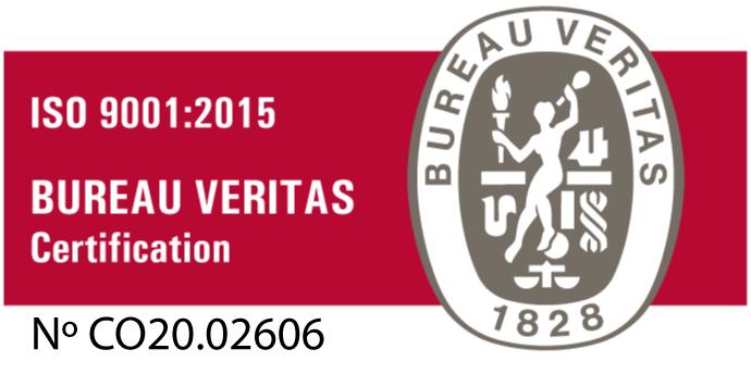 Certificación Bureau Veritas GSE