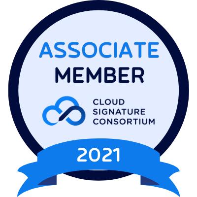 Logotipo de Associate Member Cloud Signature Consortium